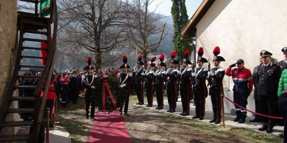 Si ricordano i carabinieri trucidati a Malga Bala