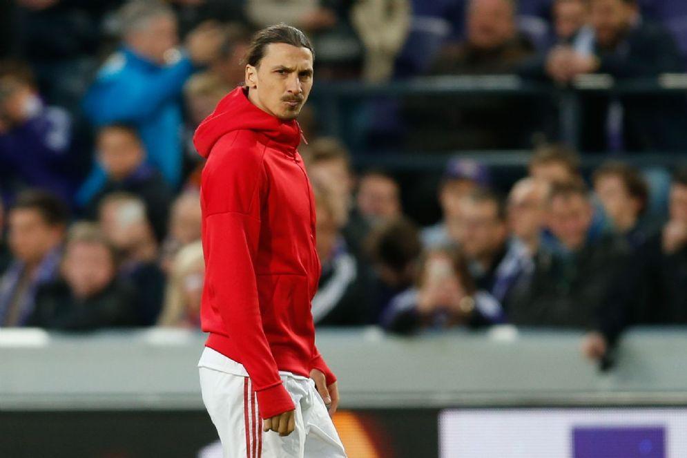 Zlatan Ibrahimovic ha appena lasciato il Manchester United dopo un anno e mezzo