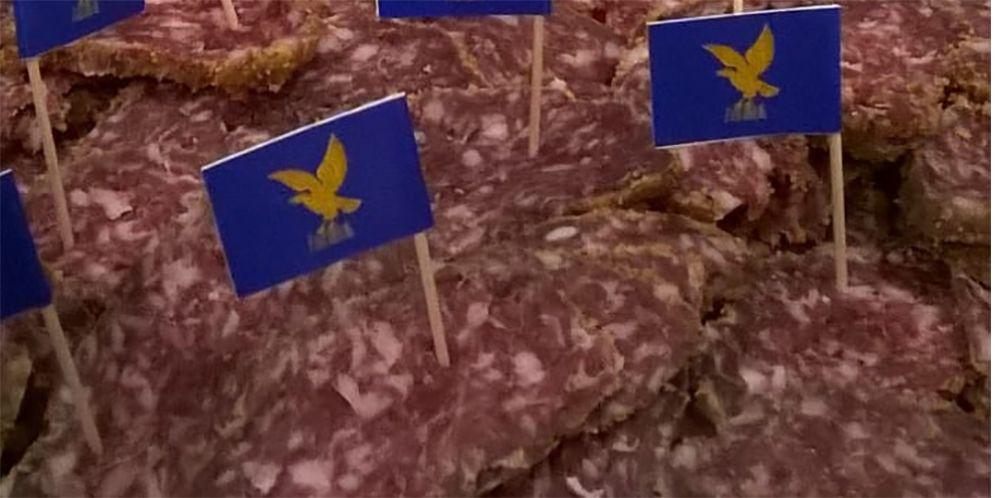 Anteprima europea a Bruxelles per la Pitina. Il prodotto a breve sarà IGP