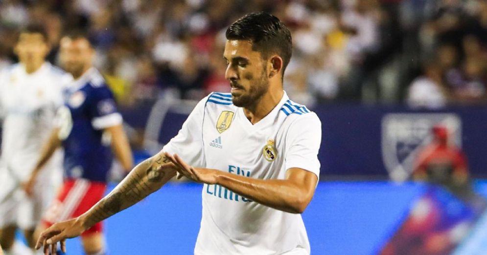 Il talento del Real Madrid Dani Ceballos