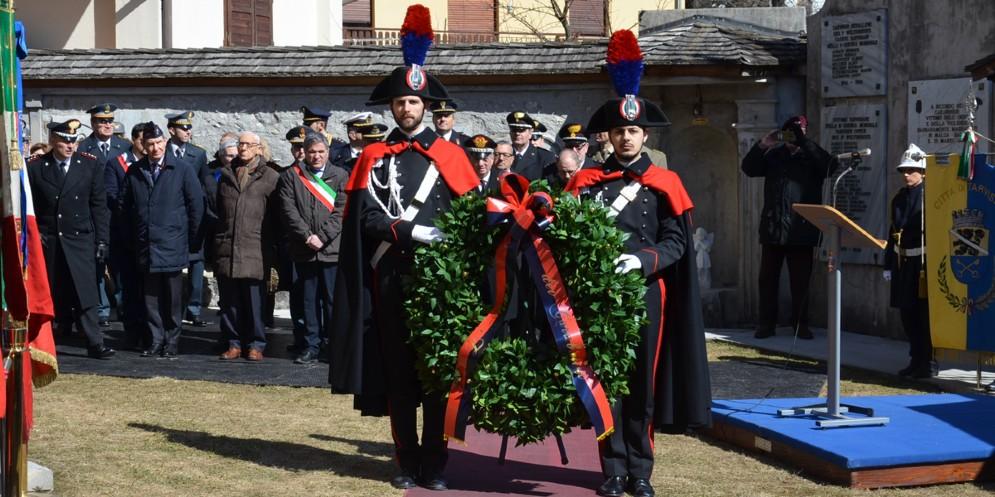 Ricordato l'eccidio dei carabinieri a Malga Bala