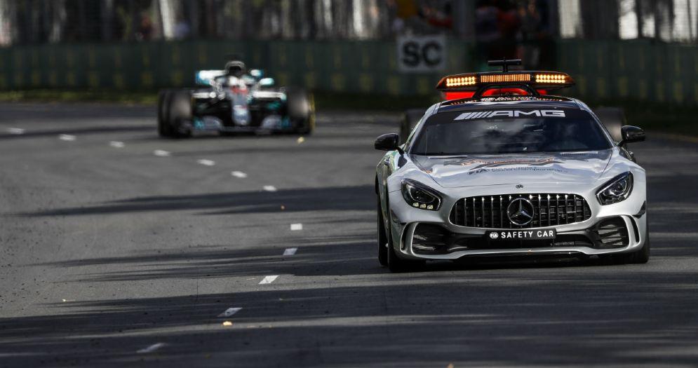 La safety car risultata decisiva per il Gran Premio d'Australia di Formula 1