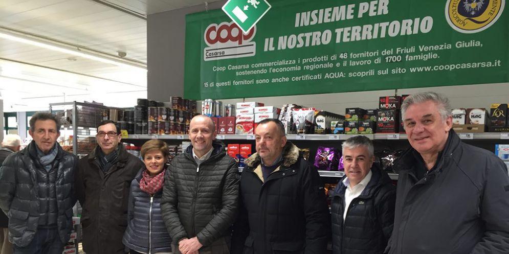 Cordovado: inaugurato il supermercato di Coop Casarsa dopo i lavori di restyling