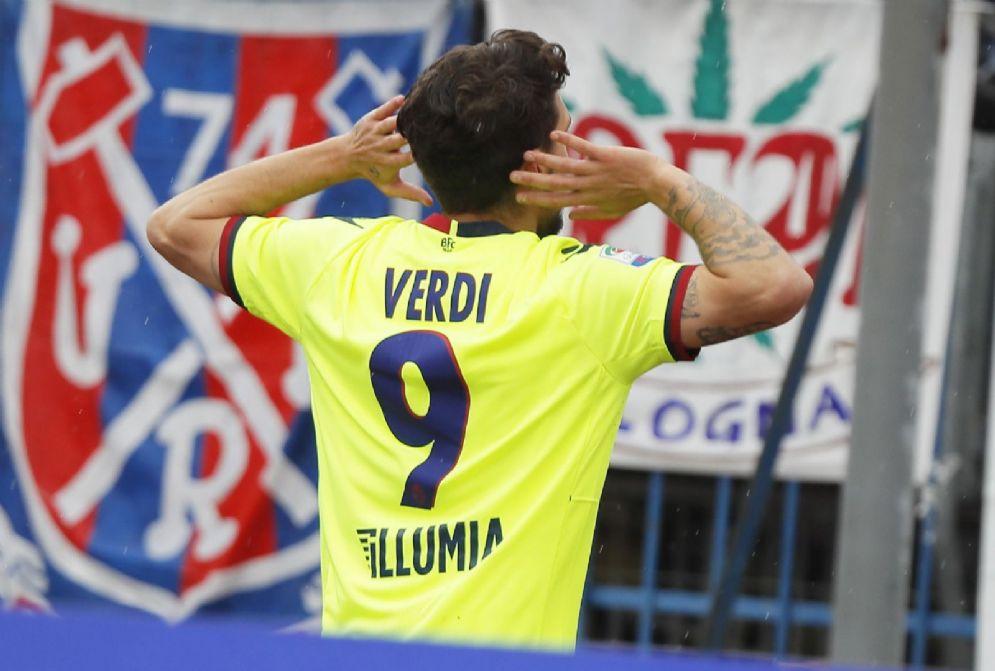 Simone Verdi, attaccante del Bologna