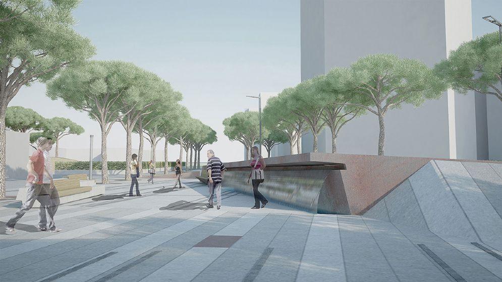 Lungomare Trieste: «Disatteso il progetto: la pietra utilizzata non è Piacentina»