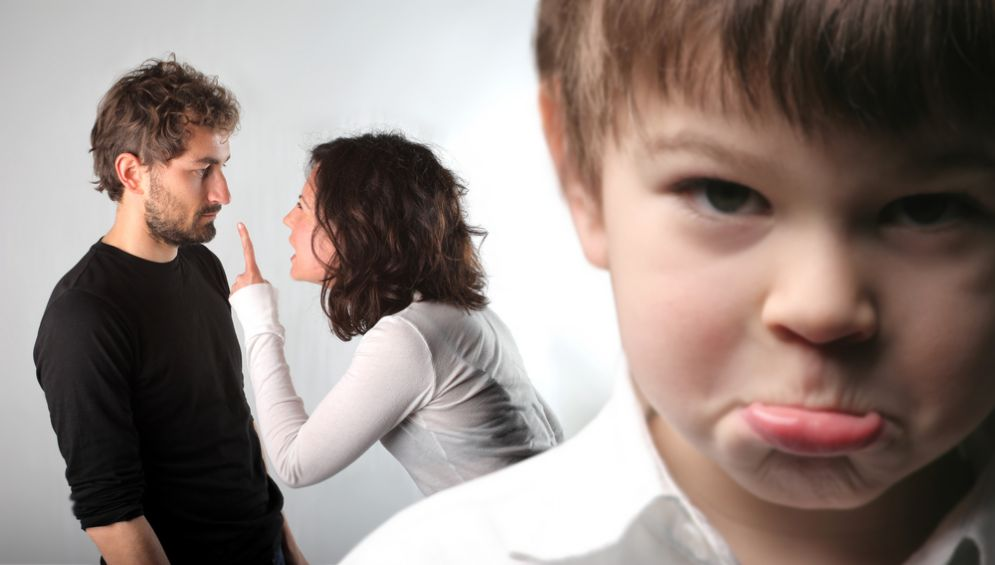 Il litigio tra genitori può causare problemi al bambino