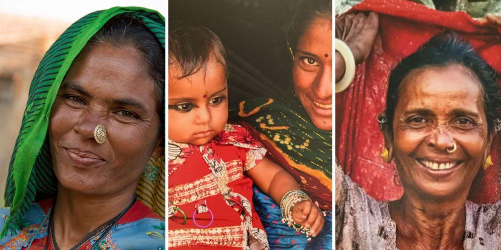 'Le donne del Gujarat' in mostra all'etnografico