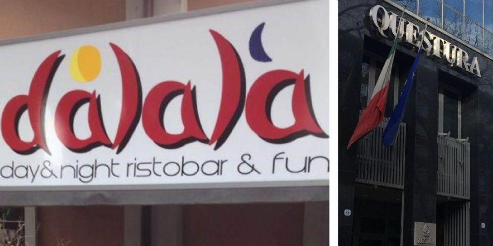 Licenza sospesa per venti giorni al 'Dalala' di viale Duodo