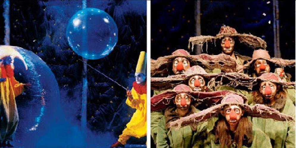 ArrivaSlava's Snowshowe la fantasia scende come magica neve al Giovanni da Udine