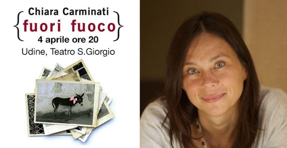 Fuori fuoco: il lavoro di Chiara Carminati diventa uno spettacolo teatrale