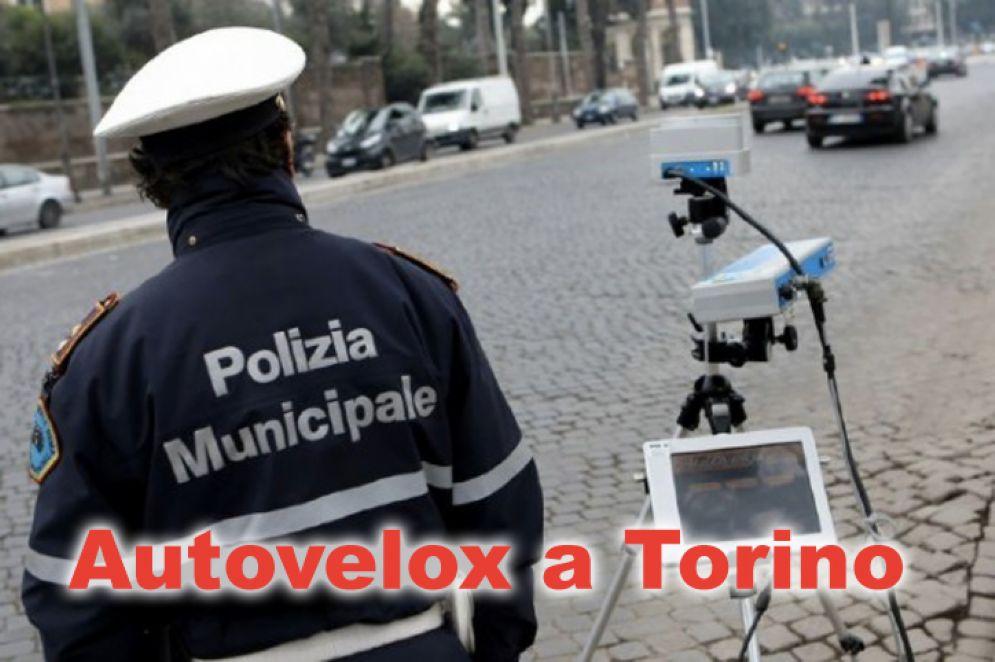 Le postazioni autovelox a Torino