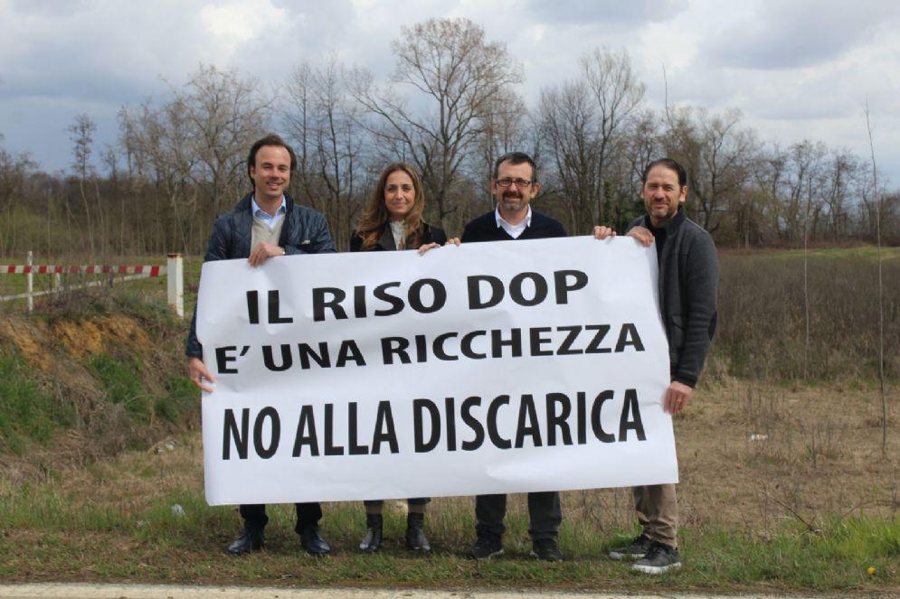 Nella foto: Alex Squaiella, Elena Chiorino, Andrea Delmastro, Carlo Zaccaria