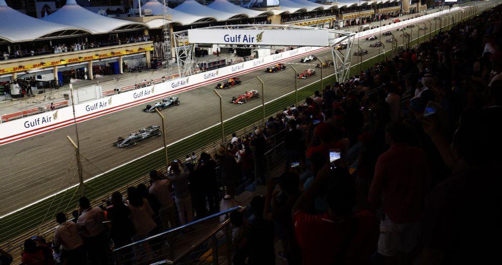 La griglia di partenza del Gran Premio del Bahrein 2017 di Formula 1