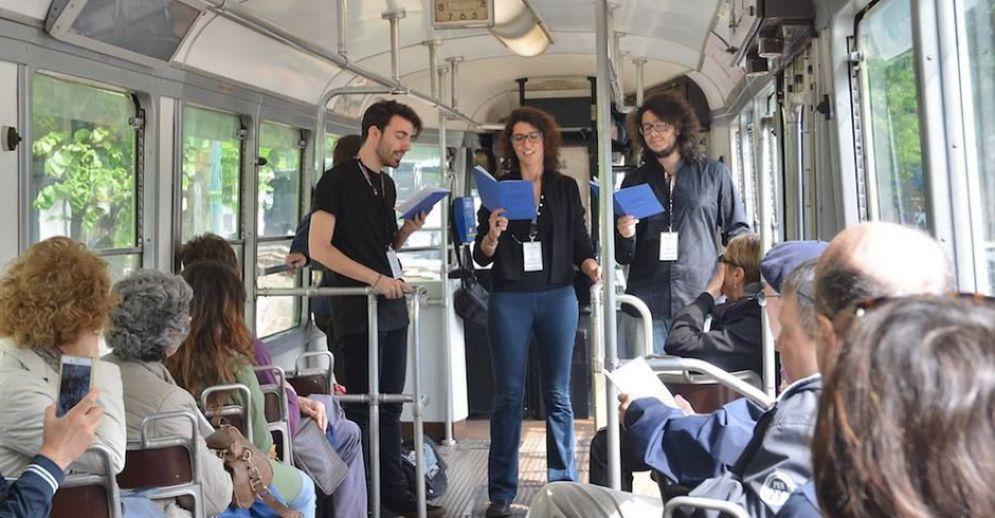 Letture in tram