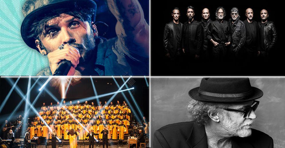Gli artisti che saliranno sul palco per l'edizione 2018