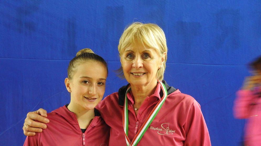 Arianna Larice e Tatiana Shpilevaya