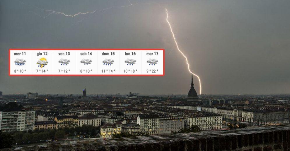 Meteo a Torino, le previsioni di mercoledì 11 aprile