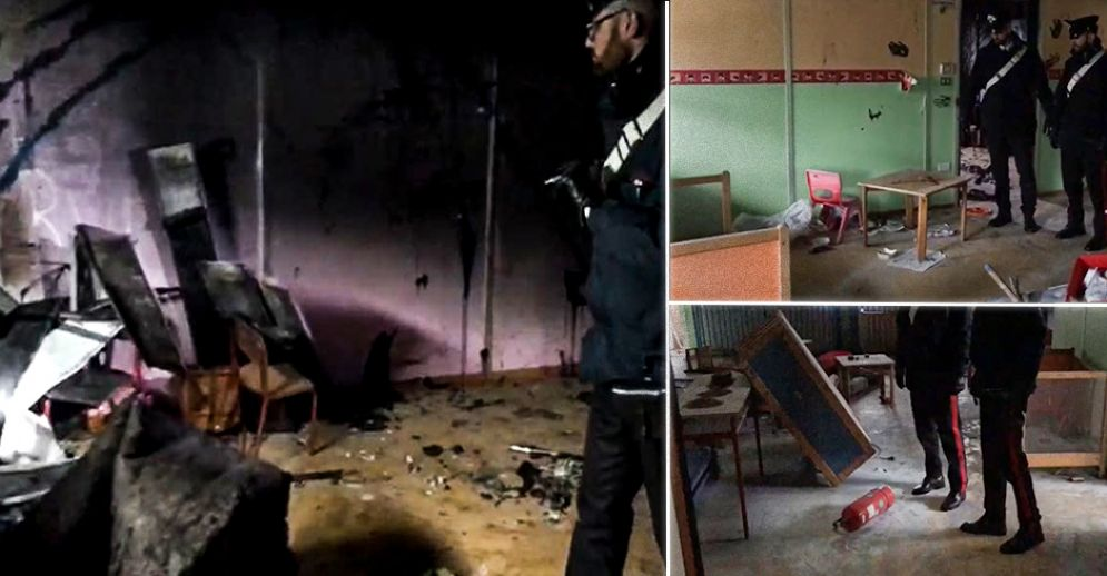 Raid vandalico all'ex asilo di Mappano