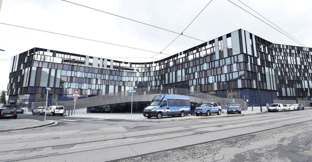 L'edificio visto da fuori