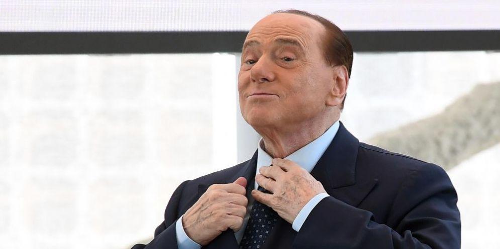 Il presidente di Forza Italia Silvio Berlusconi.