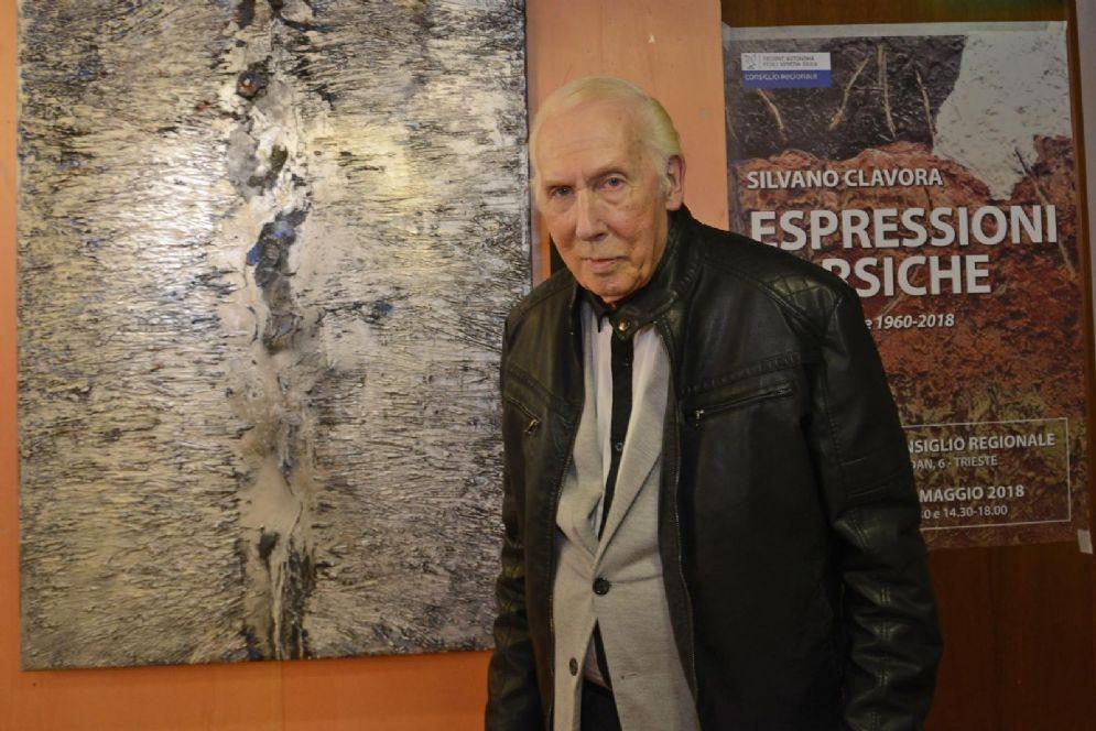 """Inaugurata mostra """"Espressioni carsiche"""" di Silvano Clavora"""