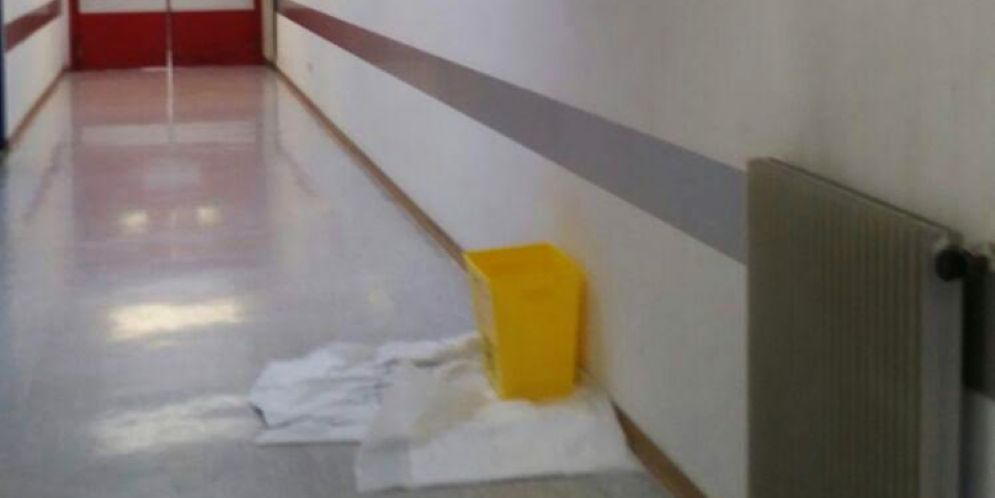 Gemona, dopo i lavori da 600 mila euro continua a piovere nell'ospedale