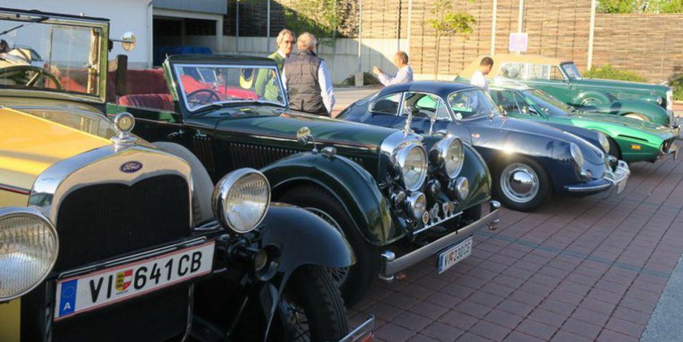 'Risveglio dei motori': oltre 40 vetture d'epoca lungo il confine orientale