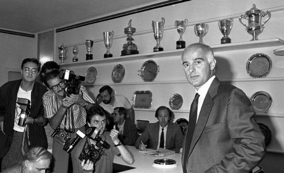 Arrigo Sacchi, allenatore del Milan dal 1987 al 1991