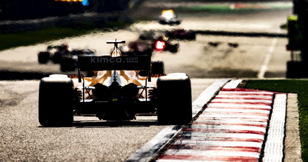 La partenza dell'ultimo Gran Premio di Formula 1 in Cina