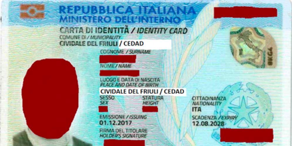 Cividale: arriva la carta di identità elettronica bilingue