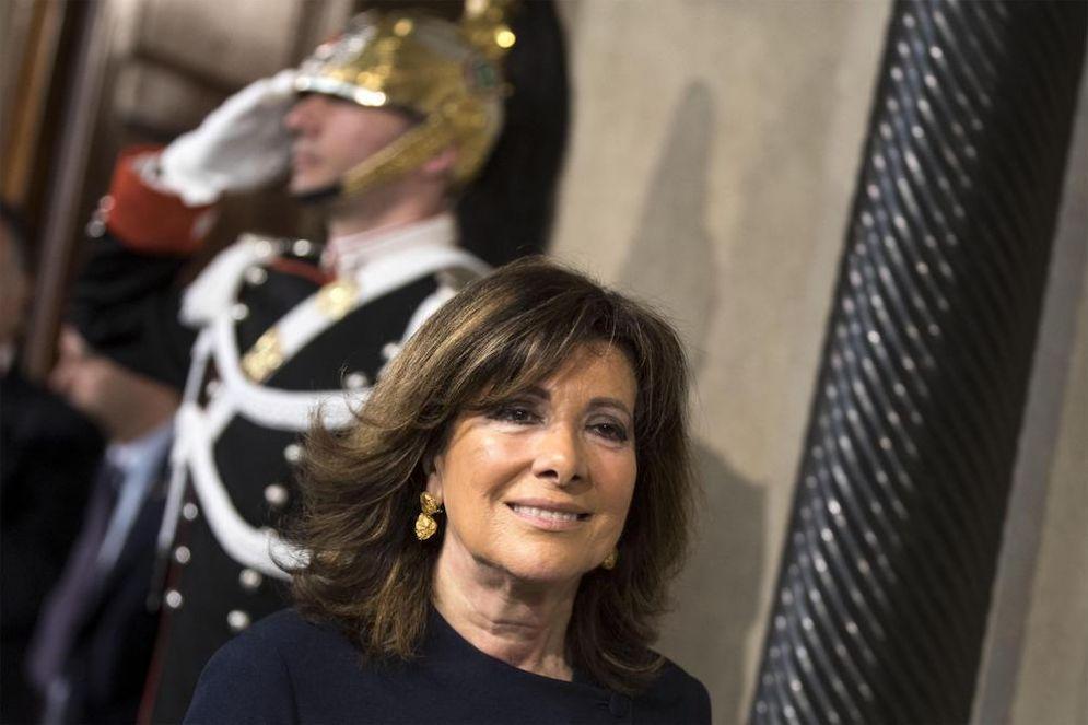 La presidente del Senato Elisabetta Casellati.