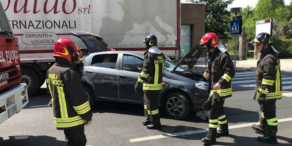 Incidente stradale sulla SS13 Pontebbana all'altezza di Casarsa