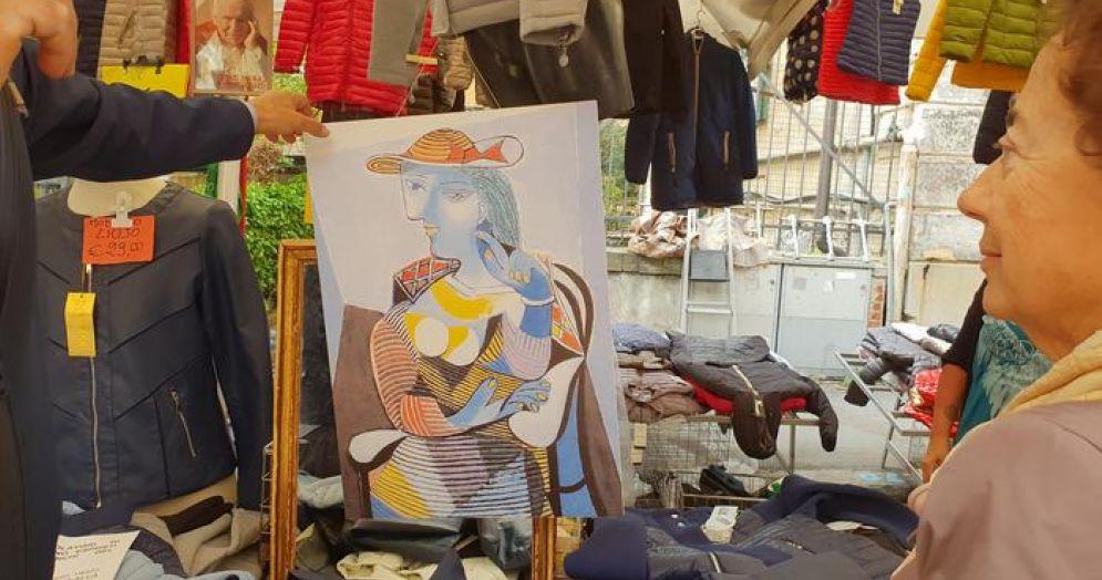 """""""Picasso al mercato"""" parte da Piazza Palermo"""