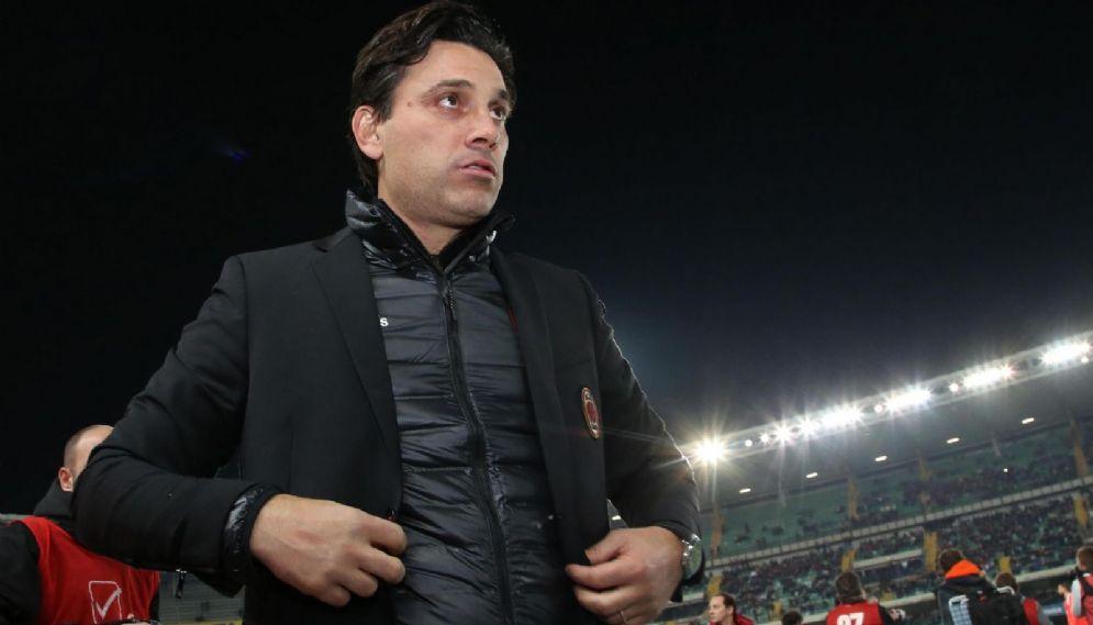 Vincenzo Montella, ex allenatore del Milan esonerato il 27 novembre 2017, oggi tecnico del Siviglia