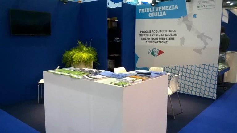 Spazio Regione Friuli-Venezia Giulia nella passata edizione di Seafood Expo Global