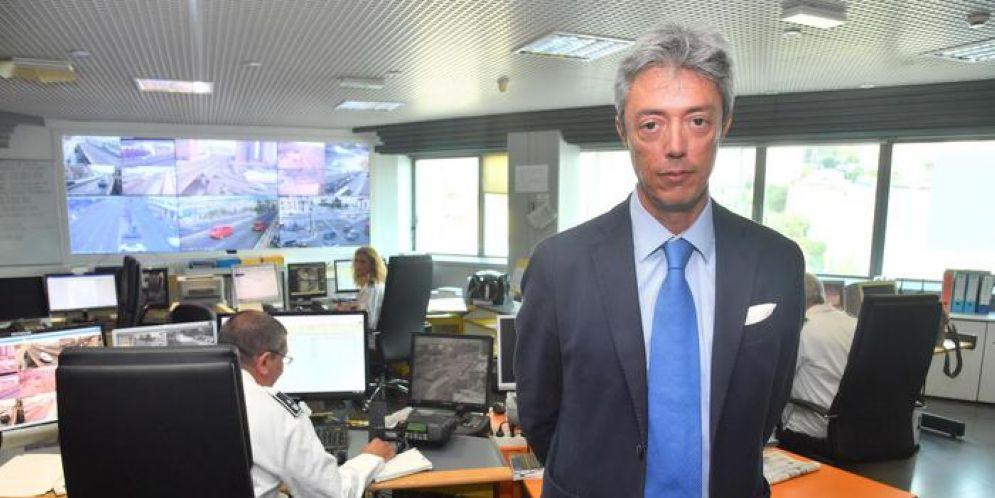 L'assessore alla Sicurezza Stefano Garassino