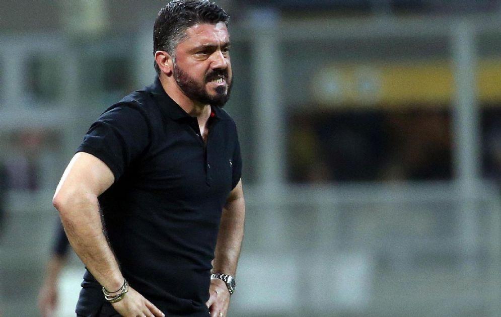Tutta la rabbia di Gattuso al termine della partita con il Benevento