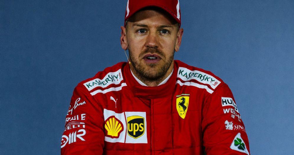 Sebastian Vettel in conferenza stampa