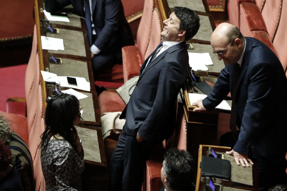 L'ex segretario del Pd Matteo Renzi