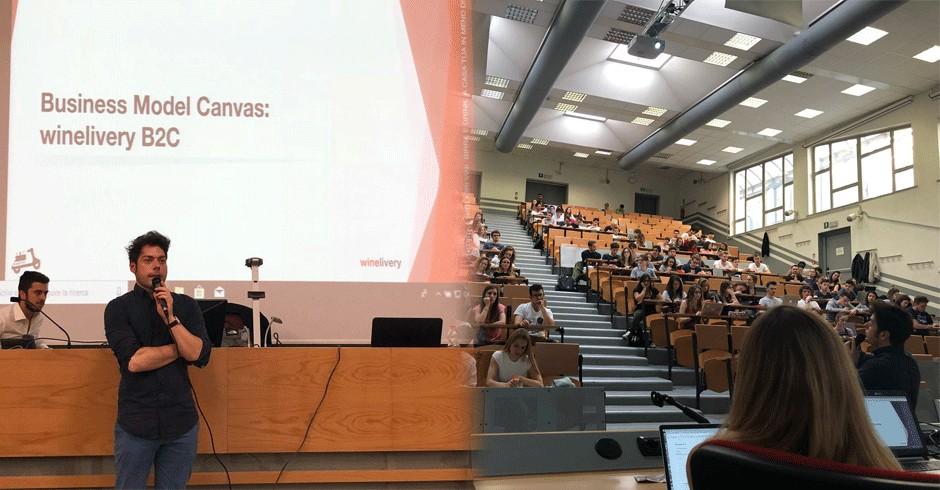 La lezione tenuta alla Facoltà di Economia di Torino