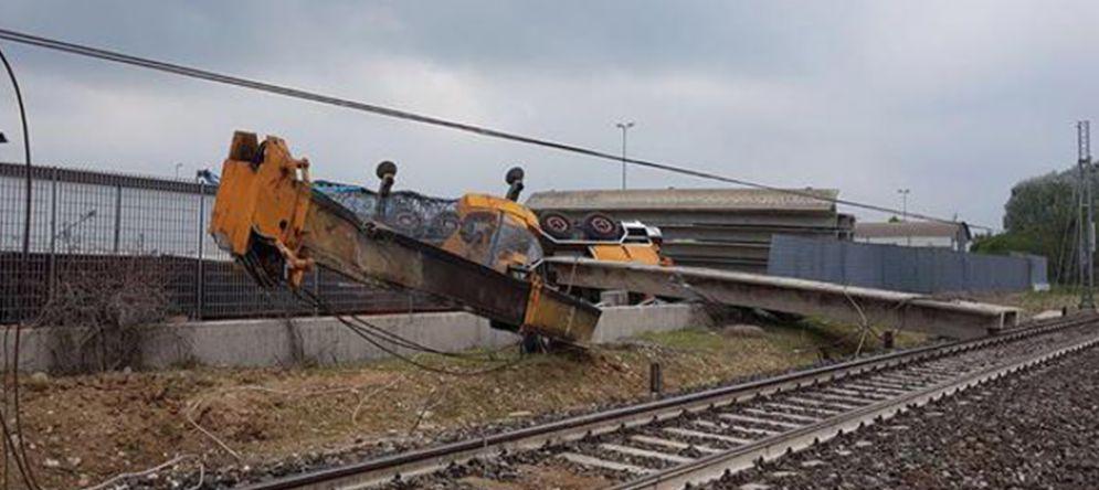 Incidente ferroviario sulla Torino - Savona