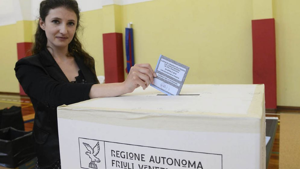 Elezioni Fvg: alle 19 al voto il 38,37% degli aventi diritto