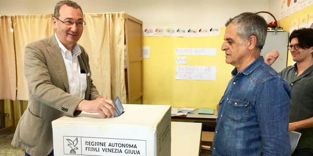 Bolzonello ammette la sconfitta: «Congratulazioni a Fedriga»