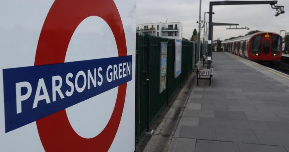 Fermata del quartiere cittadino londinese