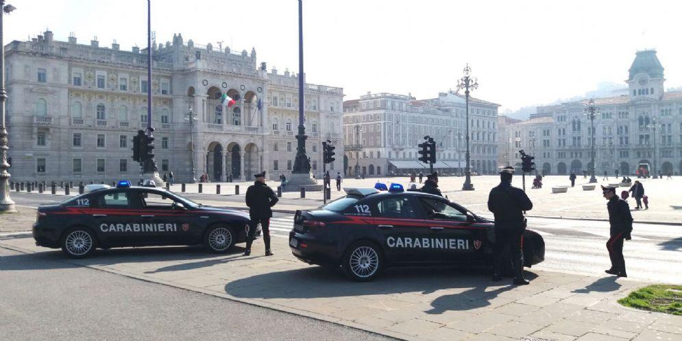 Carabinieri aggrediti da una donna e dai suoi cani durante un controllo