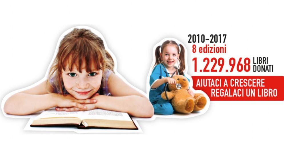 """""""Aiutaci a crescere, regalaci un libro"""", l'iniziativa di Giunti e Tiare Shopping"""