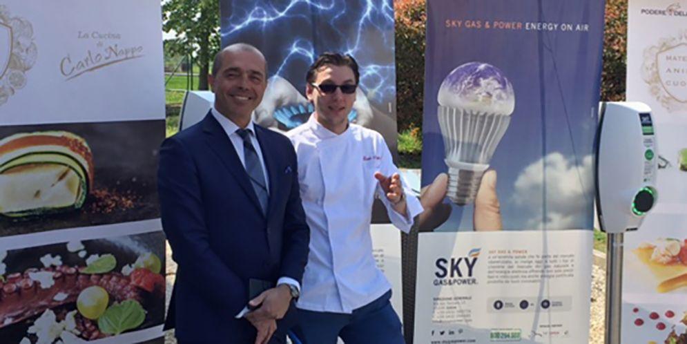 Colonnine di ricarica, è a Pordenone il primo ristorante del FVG che sostiene la mobilità elettrica
