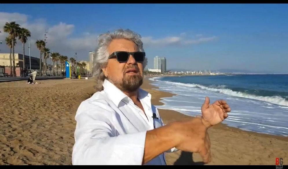 Il fondatore del M5s Beppe Grillo