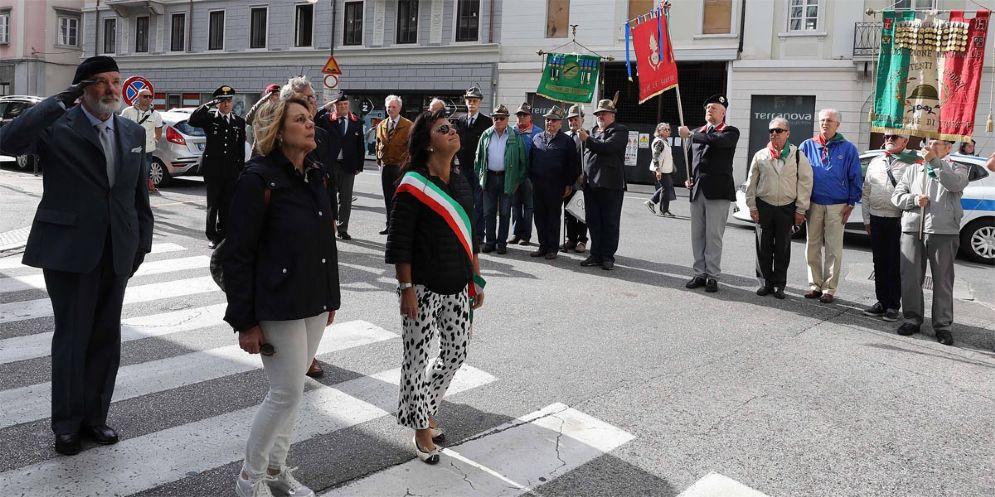 Via Imbriani, commemorati i caduti del 5 maggio 1945