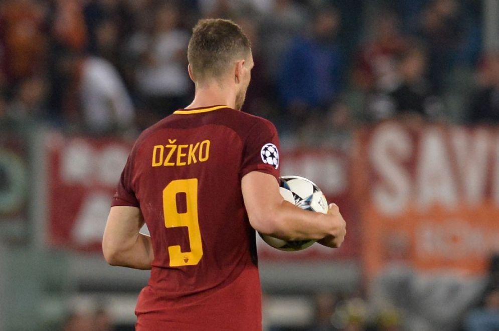 Edin Dzeko, centravanti della Roma e della nazionale bosniaca
